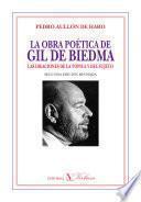 La Obra Poética De Gil De Biedma
