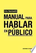 Manual Para Hablar En Público