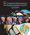 Memoria 1er Congreso Internacional De Responsabilidad Social