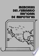 Memorias Del Seminario Nacional De Mapotecas
