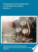 Mf0664_3   Programación De La Producción En Industrias De Proceso