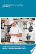 Mf1066_3   Administración En Cocina