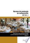 Mf1105_3   Normas De Protocolo En Restauración