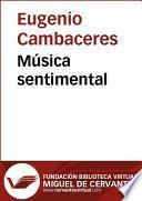 Música Sentimental