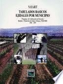 Nayarit. Tabulados Básicos Ejidales Por Municipio. Programa De Certificación De Derechos Ejidales Y Titulación De Solares Urbanos, Procede. 1992   1997