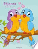 libro Pájaros Libro Para Colorear 1 & 2
