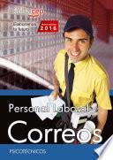 libro Personal Laboral. Correos. Psicotécnicos.