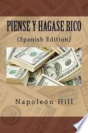 libro Piense Y Hagase Rico (spanish Edition)