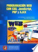 Programación Web Con Css, Javascript, Php Y Ajax