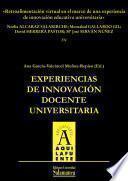Retroalimentación Virtual En El Marco De Una Experiencia De Innovación Educativa Universitaria