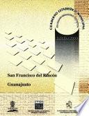 San Francisco Del Rincón Estado De Guanajuato. Cuaderno Estadístico Municipal 2000
