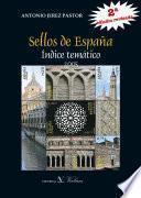 libro Sellos De España. Indice Temático