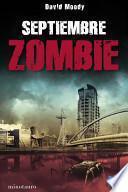 libro Septiembre Zombie