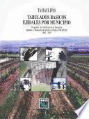 Tamaulipas. Tabulados Básicos Ejidales Por Municipio. Programa De Certificación De Derechos Ejidales Y Titulación De Solares Urbanos, Procede. 1992 1997