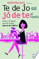 libro Te Dejo Es Jódete Al Revés
