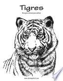 Tigres Libro Para Colorear Para Adultos 1