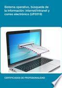 Uf0319   Sistema Operativo, Búsqueda De La Información: Internet/intranet Y Correo Electrónico