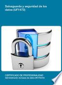 libro Uf1473   Salvaguarda Y Seguridad De Los Datos