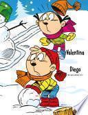 Valentina Y Diego Libro Para Colorear 1 & 2