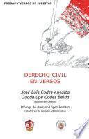 libro Derecho Civil En Versos