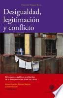 libro Desigualdad, Legitimación Y Conflicto