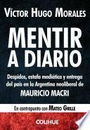 libro Mentir A Diario