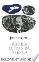 libro Política De Nuestra América