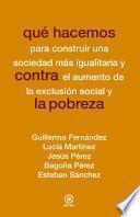 libro Qué Hacemos Contra La Pobreza