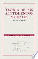 libro Teoría De Los Sentimientos Morales
