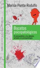 libro Bocetos Psicopatológicos