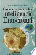 Consideraciones Sobre Inteligencia Emocional (considerations On Emotional Intelligence)