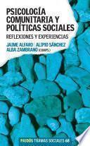 libro Psicología Comunitaria Y Políticas Sociales