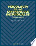 Psicología De Las Diferencias Individuales