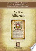 libro Apellido Albarrán