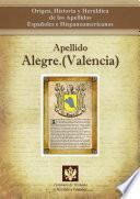 Apellido Alegre (valencia)