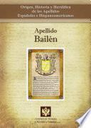 libro Apellido Bailén