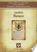 libro Apellido Bazaco