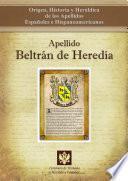 Apellido Beltrán De Heredia