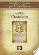 libro Apellido Cantallops
