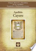 Apellido Cayero
