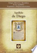 libro Apellido De Diego