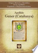 Apellido Gener (catalunya)