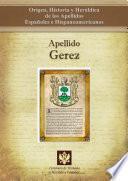 libro Apellido Gerez