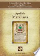 libro Apellido Matallana
