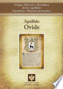 libro Apellido Ovide