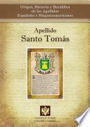 libro Apellido Santo Tomás