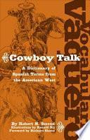 Vocabulario Vaquero/cowboy Talk