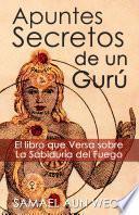 libro Apuntes Secretos De Un Guru