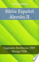 libro Biblia Español Alemán Ii