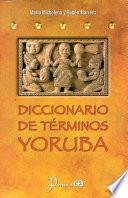 libro Diccionario De Terminos Yoruba